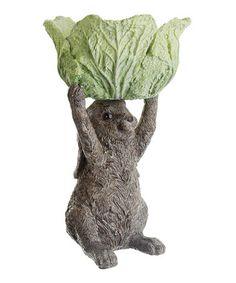 Look what I found on #zulily! Presentation Bunny & Cabbage Bowl #zulilyfinds