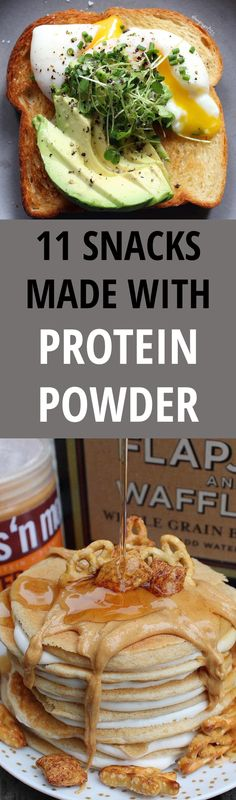 Protein snacks are great for gym junkies or those just looking for more nutritious alternatives to their favorite foods. Here are 11 things to make with protein powder that that taste so good, you won't miss the real deal.