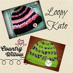 This adorable Loopy Kate Hat pattern is perfect for baby girls. Made with soft yarn and embellished with a cute button, this hat is as much fun to make as it is to give. This cute crocheted hat pattern will fit babies ages 12-24 months and is a simple crochet project that works up quickly and easily. With a few hours to spare, you can have a new adorable crocheted baby hat to fit the beautiful one in your life. You could also make a handful of these cute hats and donate them to your local…