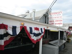 """Woodman's of Essex, (""""birthplace of the fried clam"""") 121 Main Street, Essex, MA"""