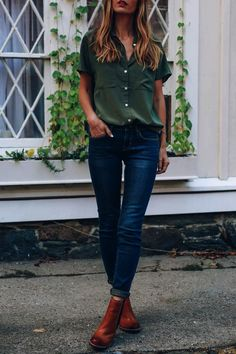 Take a look at 14 stylish ways to wear ankle boots in casual spring outfits in the photos below and get ideas for your own amazing outfits!!! So cute these fall outfit ideas that anyone can wear teen girls or Continue Reading