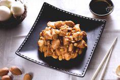 Ricetta Pollo alle mandorle - Le Ricette di GialloZafferano.it Delicious Recipes, Yummy Food, Wok, Ethnic Recipes, Dinner, Delicious Food, Woks, Good Food
