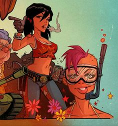 21st Century Tank Girl book | Comics, Art & Illustrations | Pinterest