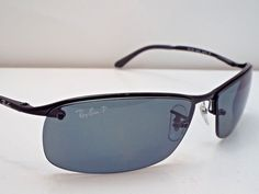 c442d1801a Authentic Ray-Ban RB 3183 002 81 Black Grey Polarized Sunglasses  223   fashion