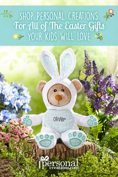 From the Easter table to the egg hunt, find the perfect personalized touches from our Easter collection.