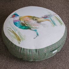 Voyage Maison Mr Pheasant floor cushion available in store and online at www.curiosityinteriors.co.uk Just click the image!