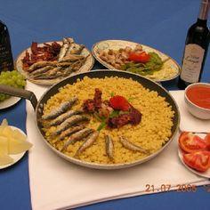 """Unas """"Migas"""" típicas de Almeria/Spain."""
