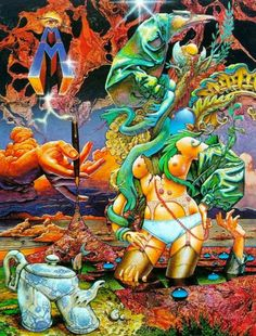 Patrick James Woodroffe (27 October 1940 – 10 May 2014) was an English artist