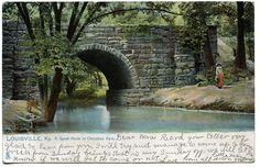 cherokee park louisville - My favorite bridge.