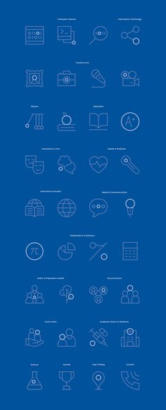 UOW - Iconography on Behance