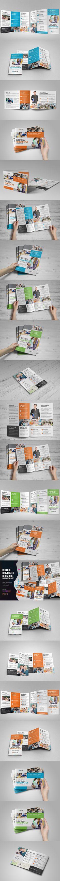 TriFold Brochure Template  Tri Fold Brochure Template Tri Fold