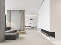 A Minimalist Bachelor Apartment in Montenegro