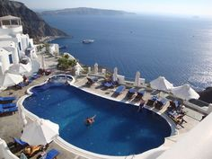Greece: Volcano View Hotel, Santorini