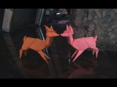 How to make Origami deer (Stephen weiss) - YouTube