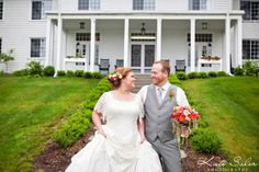 Fun and sweet bride and groom photo at Waldenwoods' Friendship Lodge by Kate Saler Photography. www.katesalerphotography.com