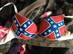 Ain't nothing like a rebel flag bra. ;)