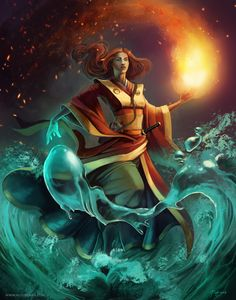 Legend of The Five Rings - Phoenix Shugenja - By Allie Briggs [ART] : characterdrawing Character Design Animation, Character Art, Elemental Magic, L5r, Fantasy Women, Tag Art, Fantasy Characters, Dungeons And Dragons, Cool Artwork