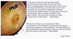 quotes on Gong healing Creative Sound, Kundalini Yoga, Human Mind, Healing, Practice Yoga, Quotes, Inspiration, Google Search, Studio