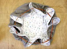 Nomadische Spielmatte für Baby - Diy And Crafts Pop Couture, Baby Couture, Couture Sewing, Sewing Projects For Kids, Sewing For Kids, Back Up, Diy Bebe, Baby Crafts, Textiles