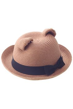 Shop Bow-knot Orecchiette Apricot Straw Hat at ROMWE, discover more fashion styles online. Look Fashion, Luxury Fashion, Nerd Chic, Love Hat, Girls Rules, Latest Street Fashion, Summer Essentials, Hat Pins, Romwe
