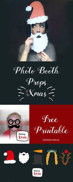 Lust auf witzige Fotos zu Weihnachten? Ich habe euch ein paar Photo Booth Props gestaltet, die ihr kostenlos (free Printable) downloaden könnt, um als DIY ein paar lustige Bilder zu schießen. Wir werden sie verschenken und ich glaube, das ist die beste Geschenkidee, die wir je hatten. Fast. ;) Viel Spaß mit dem Freebie auf dem Wolke Blog. #christmas #photography #printable #kids