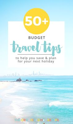 There are so many ways you can save money through planning, flights, accommodation, food and travel. Start planning your holiday now using some of my budget travel tips to help you save money on your next holiday. Cheap Travel, Budget Travel, Travel Tips, Organised Housewife, Travel Words, Next Holiday, Health Lessons, Lessons For Kids, Ways To Save Money