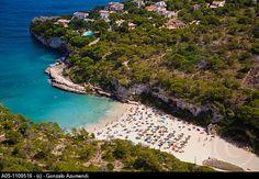 Cala Llombards. Majorca. Balearic Islands. Spain.