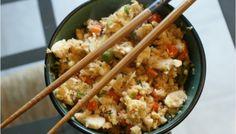 Cauliflower Fried Rice (Make Ahead Freezer Meal)