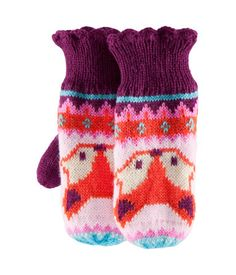 and matching fox gloves! Fingerless Mittens, Knit Mittens, Mitten Gloves, Knitted Hats, Hand Warmers, Wrist Warmers, Knitting Accessories, Stylish Kids, Knitting Patterns Free