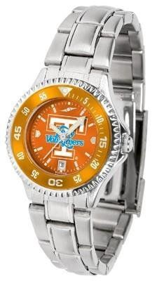 Tennessee Vols Women's Stainless Steel Dress Watch by SunTime. $88.95. Links Make Watch Adjustable. Stainless Steel. Women. Officially Licensed Tennessee Vols Women's Stainless Steel Dress Watch. Water Resistan. Tennessee Vols Women's stainless steel watch. This Vols dress watch with rotating bezel color-coordinated to compliment your favorite team logo. The Competitor Steel utilizes an attractive stainless steel band. Perfect for any occasion, whether casual or formal...