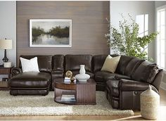 Stetson Ridge Brown 6 Pc Sectional . . 112.5W x 99.5D x 42H. Find affordable Sectionals for your home that will complement the rest of your furniu2026 : stetson sectional - Sectionals, Sofas & Couches