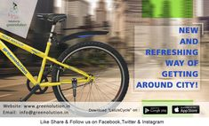 Cycle is something that every common man can afford, 'Let us cycle' is one of those initiate taken by Greenolution that support cycle sharing in Delhi.   #LetUsCycle,  #CycleSharingInDelhi,  #CycleSharingInIndia #CycleSharing #CycleRenting #BicycleSharing #BicycleRenting