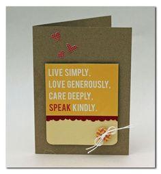Speak Kindly Card by Summer Fullerton using Jillibean Soup's Neopolitan Bean Bisque Collection (via the Jillibean Soup blog).