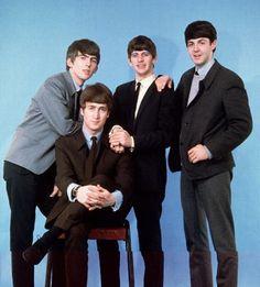 George H. Harrison♥♥John W. O. Lennon♥♥Richard L. Starkey♥♥S. J. Paul McCartney