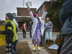 Pajama-clad students rally for later bell times ahead of Montgomery vote - The Washington Post
