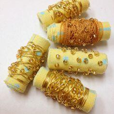 DIY Fabric Beads
