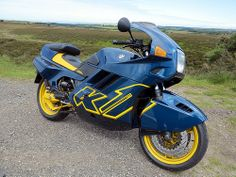 motobilia:  B.M.W K11989 by -BSMK1SV- #flickstackr Flickr: http://flic.kr/p/nLxaq8