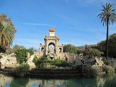 Parc de la Ciutadella. Barcelona, Catalonia