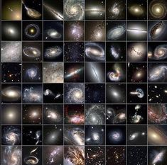 Different Galaxies as captured by the Hubble space telescope. Astronomy Facts, Astronomy Science, Space And Astronomy, Cosmos, Different Galaxies, Planetary Nebula, Helix Nebula, Space Planets, Hubble Space Telescope