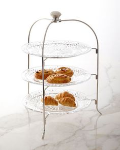 Dublin+3-Tier+Serving+Stand+by+Godinger+at+Neiman+Marcus.