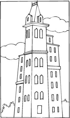 World Trade Center Before 9 11 Coloring Page