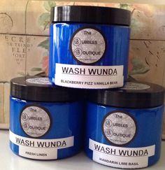 Wash Wunda -Fragrance Booster 500gram $14.25 + $8.00 postage Australia Wide.  Check out www.facebook.com/BoutiqueNBubbles24601