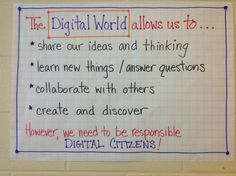 #digcit brainstorming Beginning of the Year