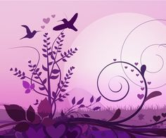 Abstract Birds - #abstract #floral Android wallpaper @mobile9