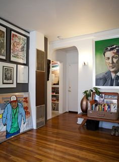 """When a Room Feels """"Off"""": 4 Possible Culprits and How to Fix Them Tiny Living, Living Spaces, Living Room, Suitcase Decor, Interior Inspiration, Design Inspiration, Hanging Frames, Hanging Art, Old Suitcases"""