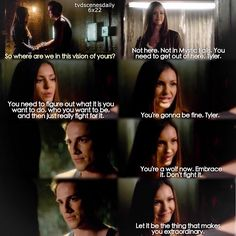 + [6x22] I thought Tyler's goodbye could have been better.. I know the episode was focused on Elena but Tyler isn't coming back either and I was expected a goodbye from other characters too like maybe Caroline idk . Give credit if you repost {#tvd #tvdfamily #tylerlockwood}