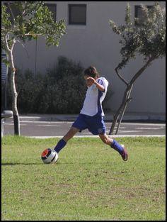 SCFC U13A vs Kensington. Trey controls a long ball on his toes!