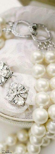 Lovely Pearls ~ Debbie ❤