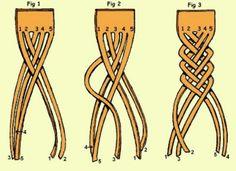 Trenza de 5 cabos :3
