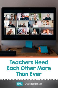 Teachers Need Each Other More Than Ever. Social distancing doesn't have to mean isolation from your teaching community. There are many ways we can still connect with our teacher team from afar. Your Teacher, Math Teacher, Teaching Math, Carnegie Learning, Body Parts Preschool, World Language Classroom, Team Schedule, Go It Alone, World Languages